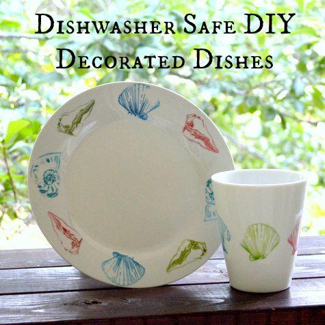 DIY Dishwasher Safe Decorating Plates and Mugs u2013 Sharpies Sharpie Pens u0026 Alcohol Inks # & DIY Dishwasher Safe Decorating Plates and Mugs u2013 Sharpies Sharpie ...