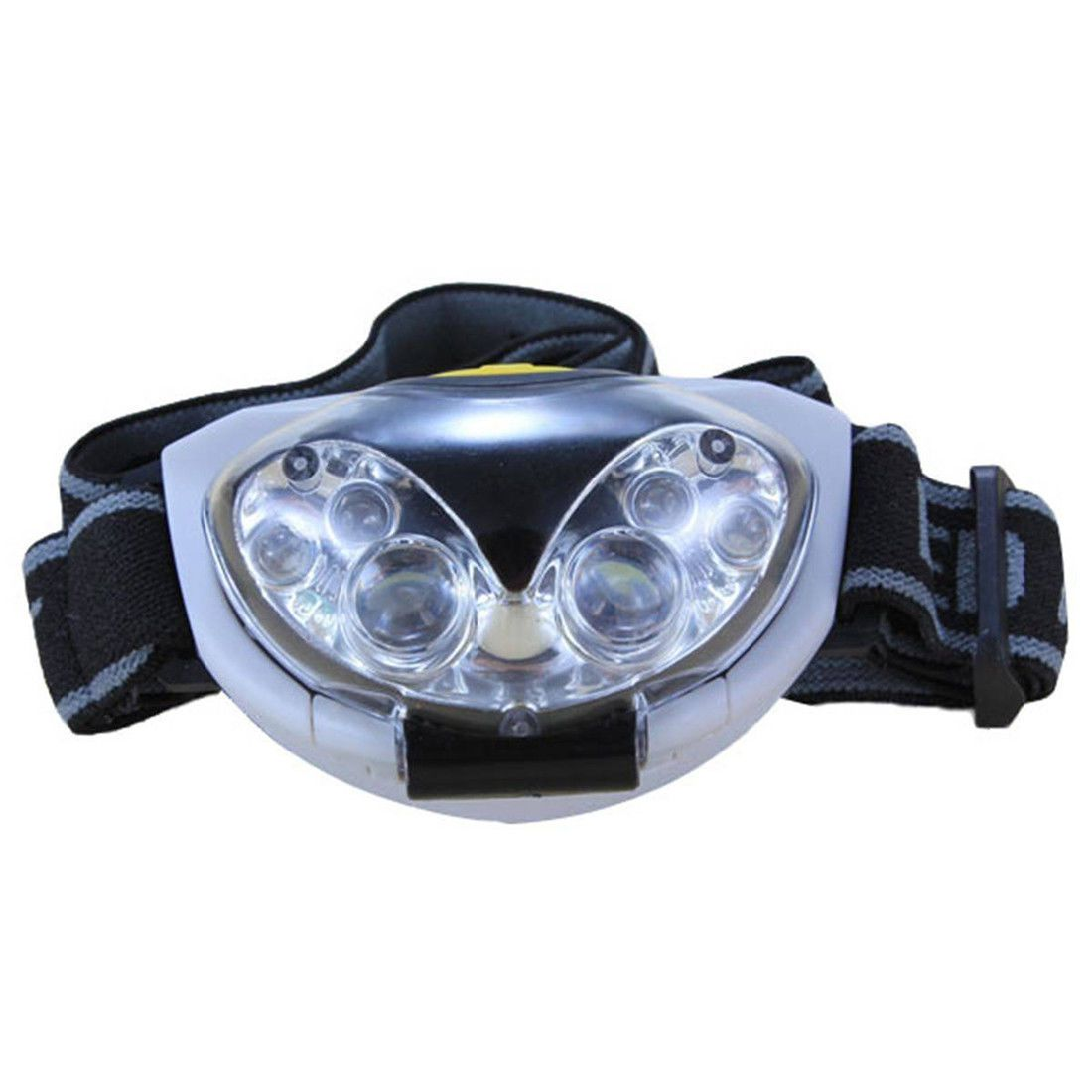 3 X AAA batteries S9R7 6 LED Waterproof Headlight Headlamp Head lamp 3 modi