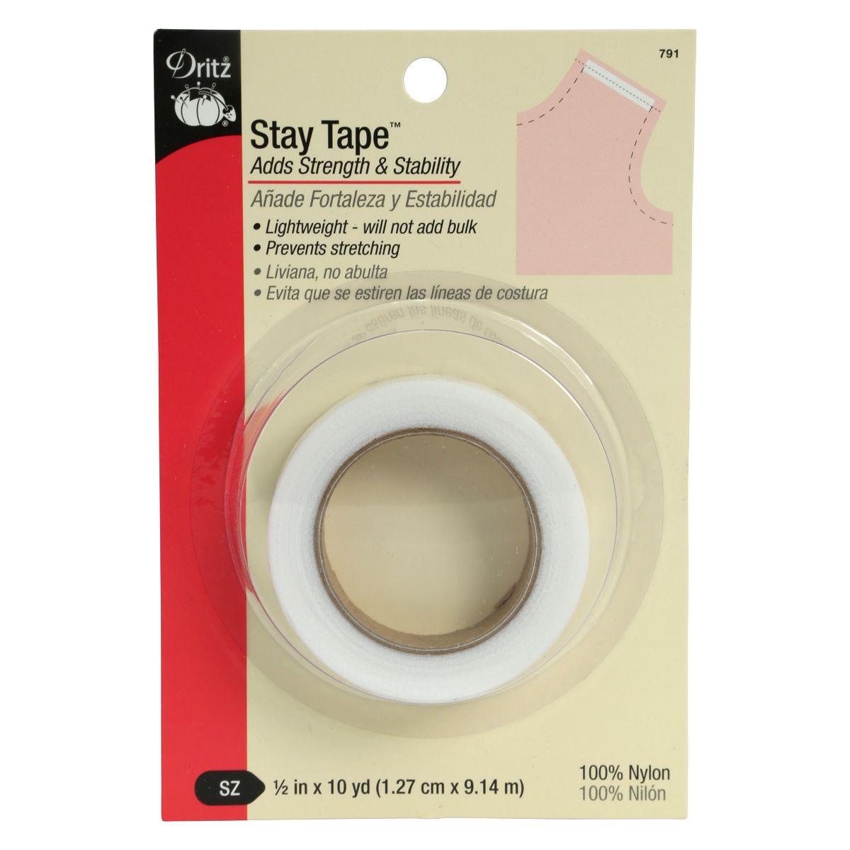 Dritz 791 1//2-Inch by 10-Yard Stay Tape