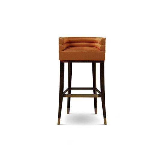 Trend Barstuhl Messing Beistelltisch Modernes Design Minimalismus Design Minimalist Decor Designer M bel