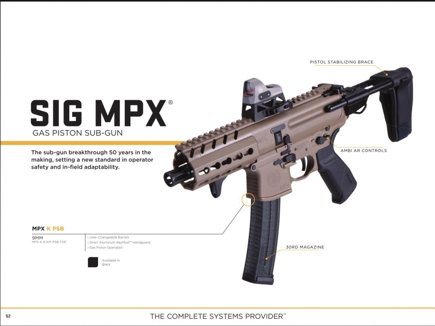 JUST OUT: The Sig Sauer 2018 Catalog Featuring the P320 M17 - The