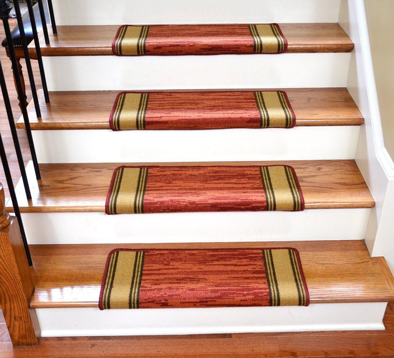 Best Dean Bullnose Non Skid Carpet Stair Treads Set Of 13 400 x 300