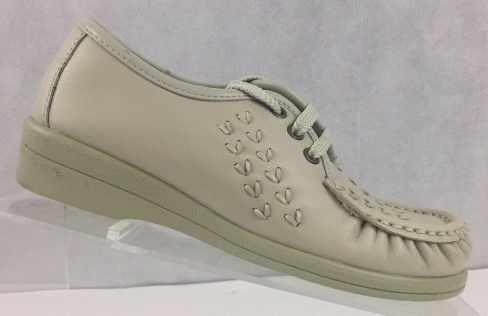 59c40a3c78477 Softspots Womens Size 4 M Leather Oxford Comfort Bonnie Lite Lace Up ...