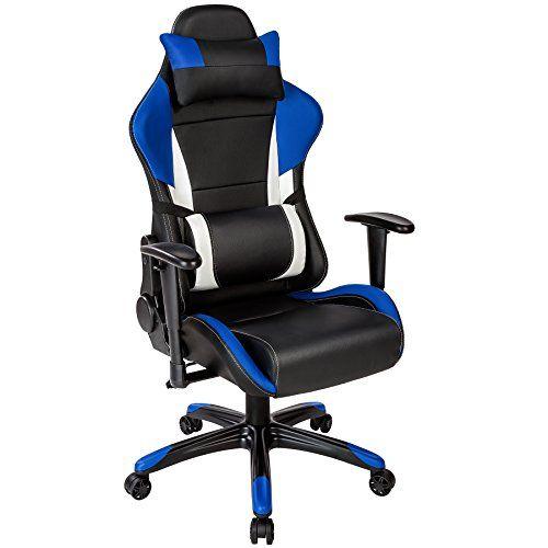 TecTake Chaise fauteuil sige de bureau racing sport ergonomique