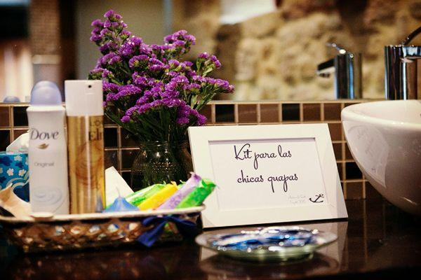 Seis ideas para decorar los baños de la boda