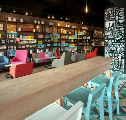 here is a modern stunning cafe interior designedesrawe in