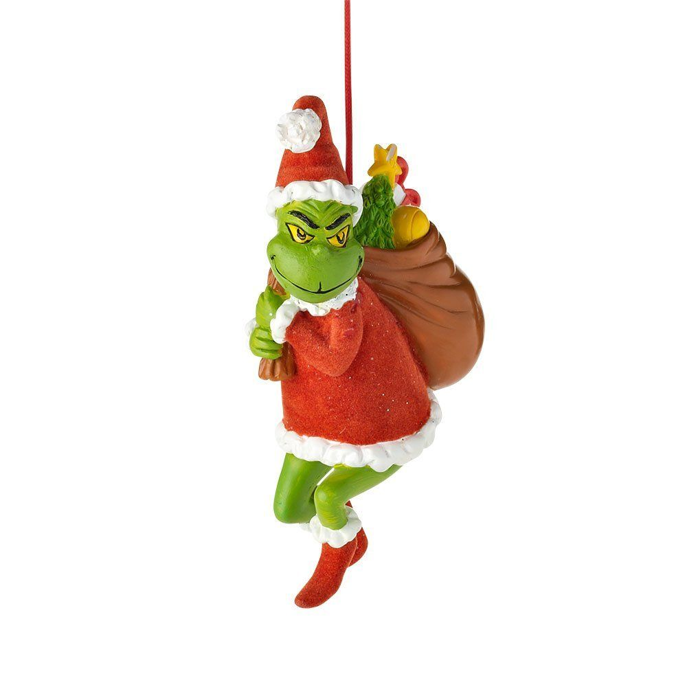 amazoncom department 56 grinch grinch stealing christmas ornament 4625 inch - Grinch Christmas Decorations Amazon