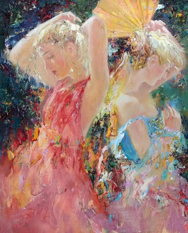 Paintings By Mstislav Pavlov Cuded Impressionism Art Russian Artists Art Timeline