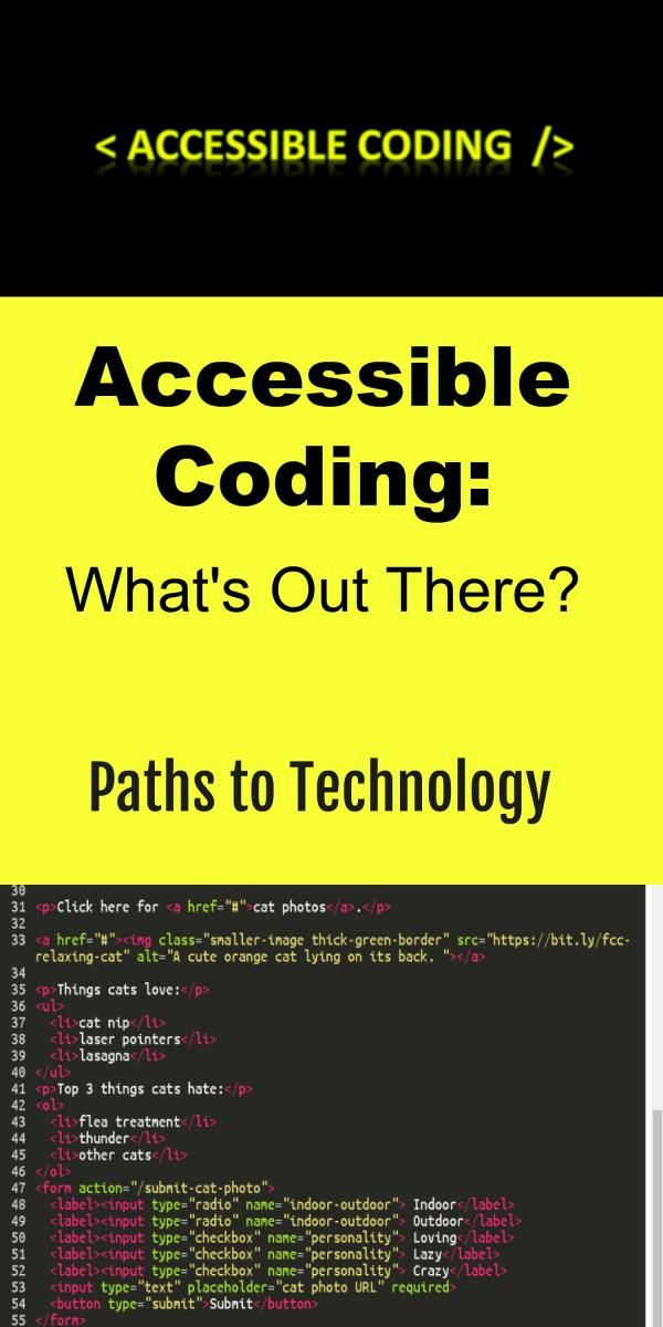 Accessible Coding: What's Out There? | The Classy Class | Coding