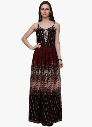 0bcee02b5853 Maroon Dresses for Women - Buy Maroon Women Dresses Online in India ...