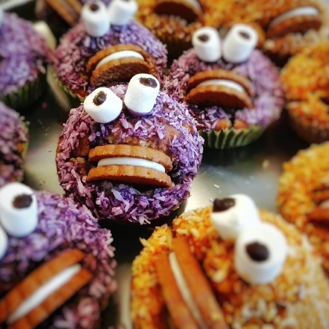 #muffins #cookiemonster #bigeyes #foodporn #yummy #baking #huaweip8lite