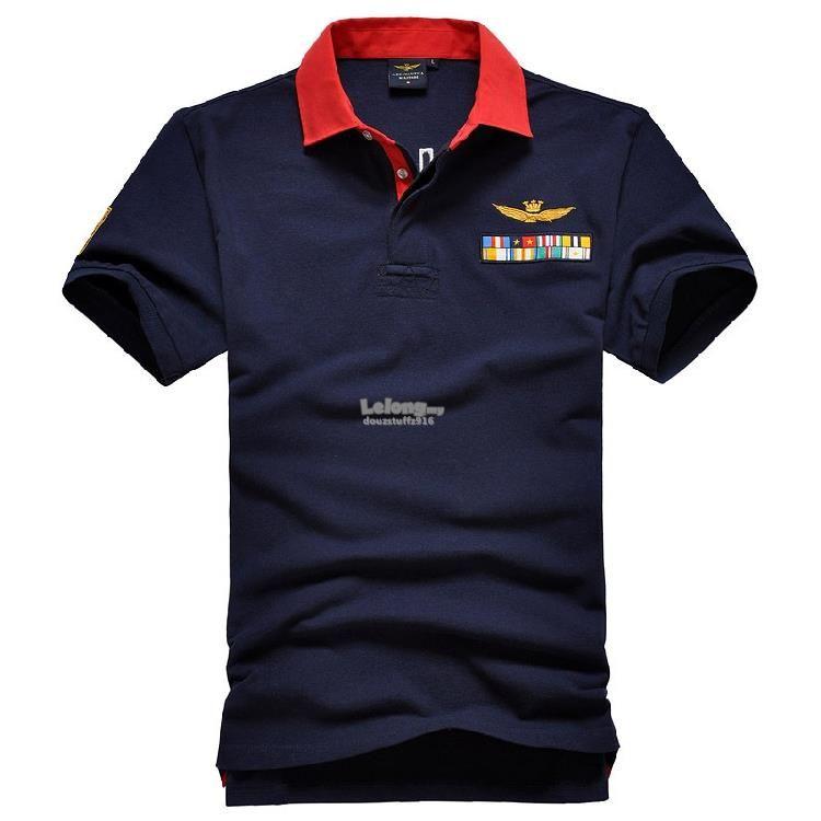 0fe342e55813 Italian Aeronautica Militare  1 Flags Fashion Men Polo T-shirt
