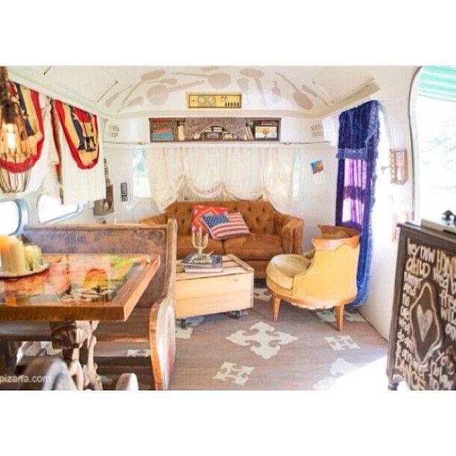 Dierks Bentleys Airstream By Junk Gypsy Caravane