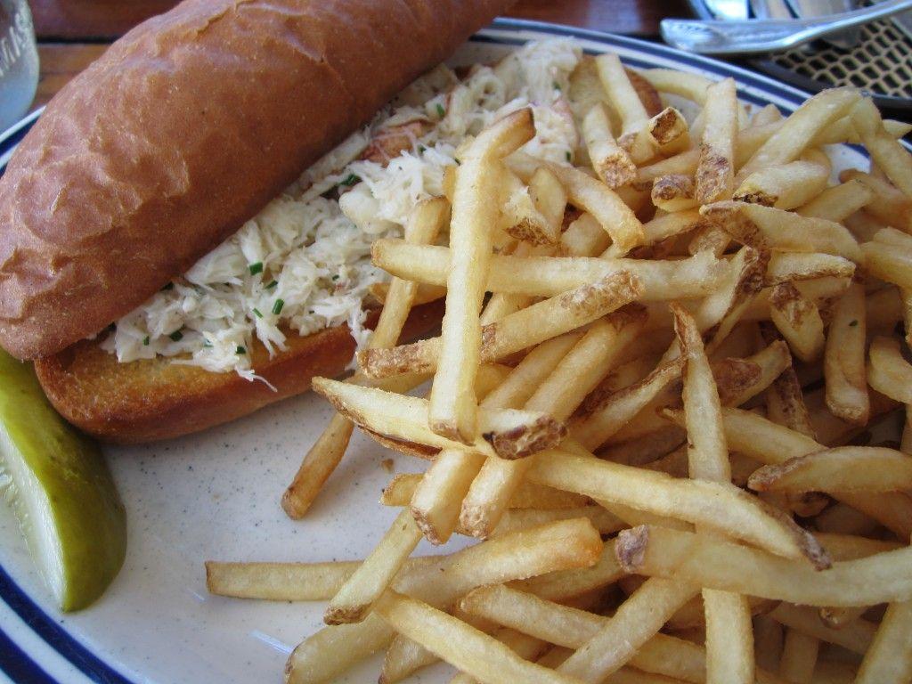 Fish, Sausalito, Crab Roll, French Fries, Marin County Restaurants, Marin  County