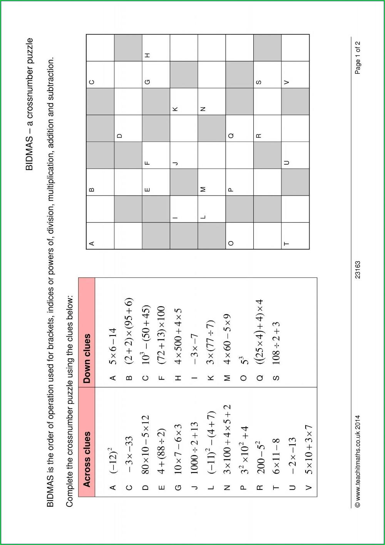 Order Of Operations Crossword Puzzle Worksheet Worksheet Resume Examples In 2021 Order Of Operations Integer Operations Math Integers [ 1413 x 1000 Pixel ]