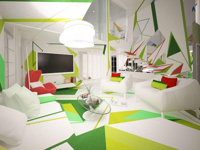 Life In Expressionism By Brani Desi Interior Ikea Design Contemporary Interior Design