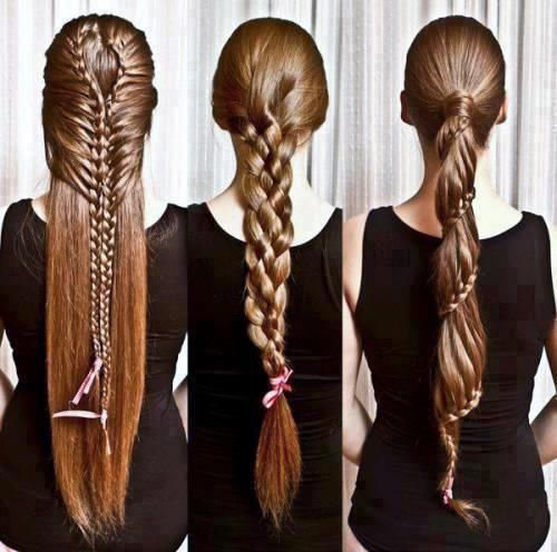Simple 8 Step To Get Eve Long Braid Hairstyle For Fine Hair And Enjoy The Party Night By Be Sure Set Th