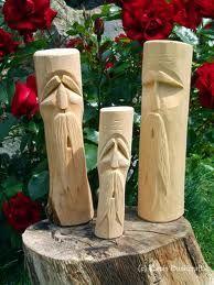 Image result for wood spirit carving