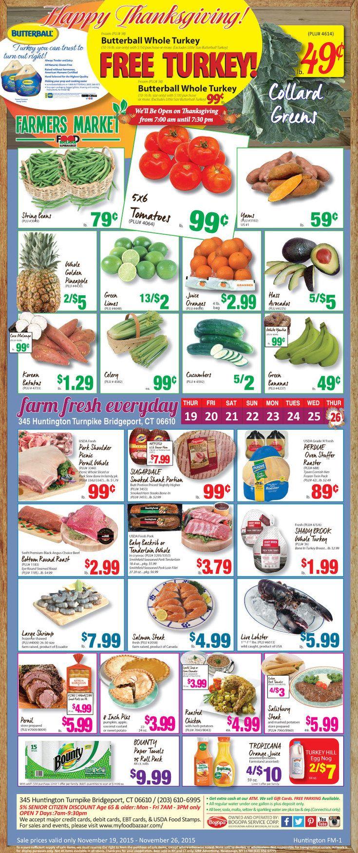 Food bazaar circular november 12 18 2015 weekly ads