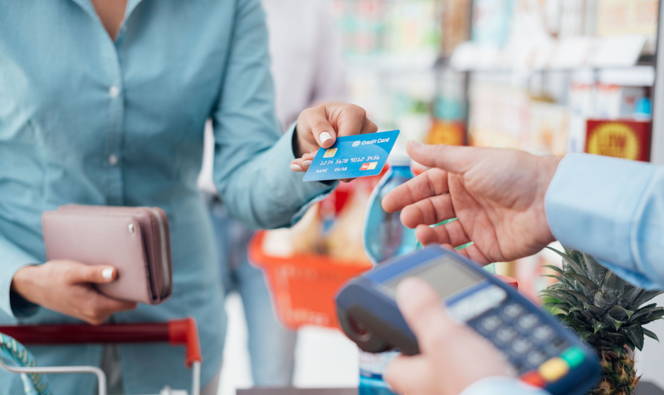 Credit cards are extremely handy because they allow you to
