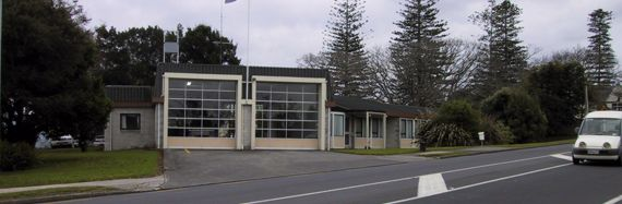 find a station   fire station, glen eden, nz history