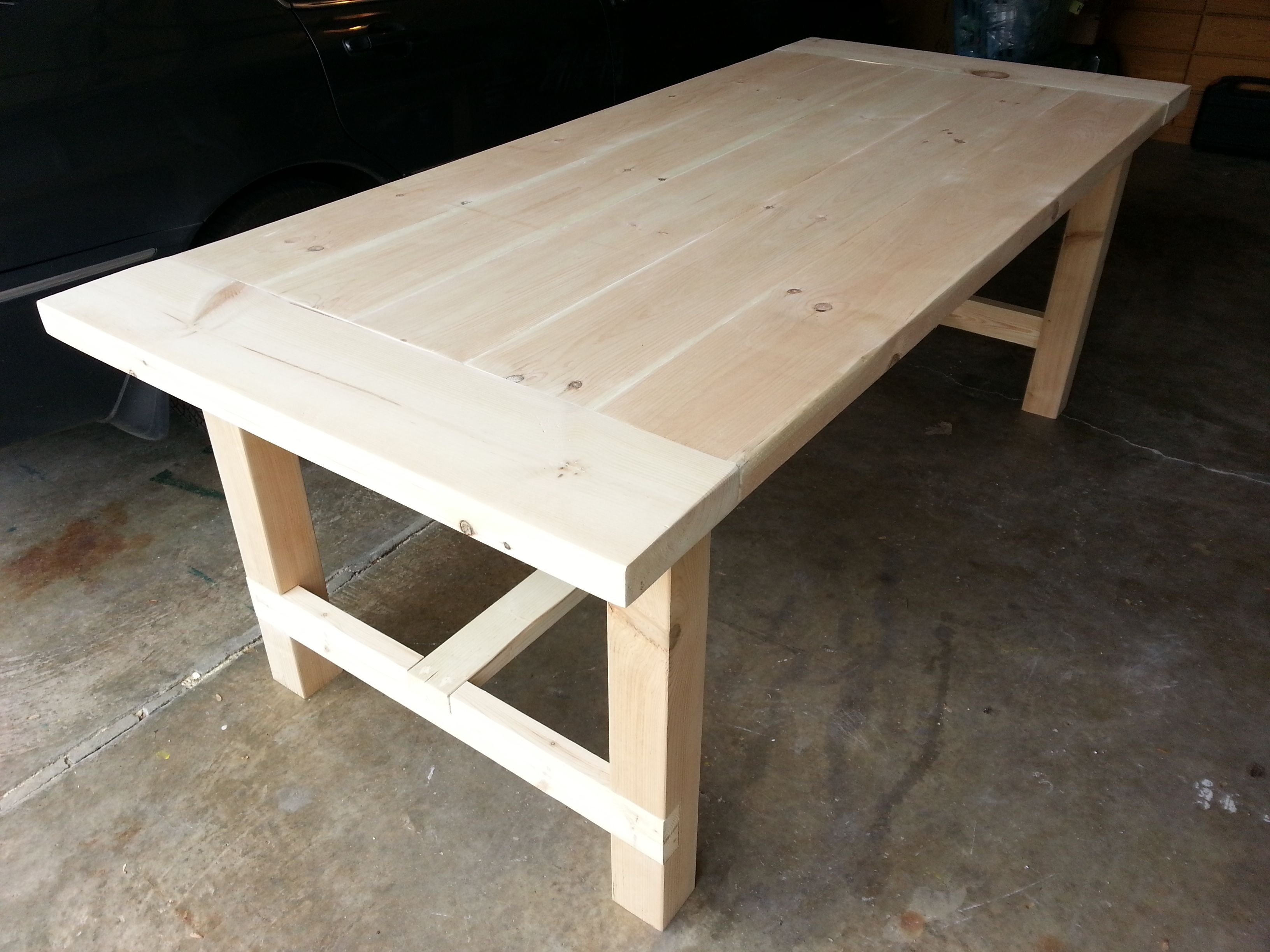 Farmhouse dining room table do it yourself home projects from ana farmhouse dining room table do it yourself home projects from ana white solutioingenieria Images