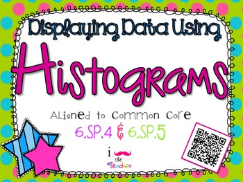 Displaying Data Using Histograms **QR CODE Task Cards