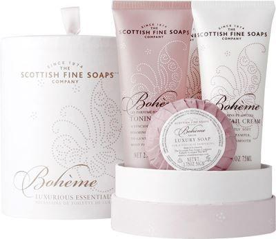 Scottish Fine Soaps Boheme Luxurious Essentials Gift (Discontinued)