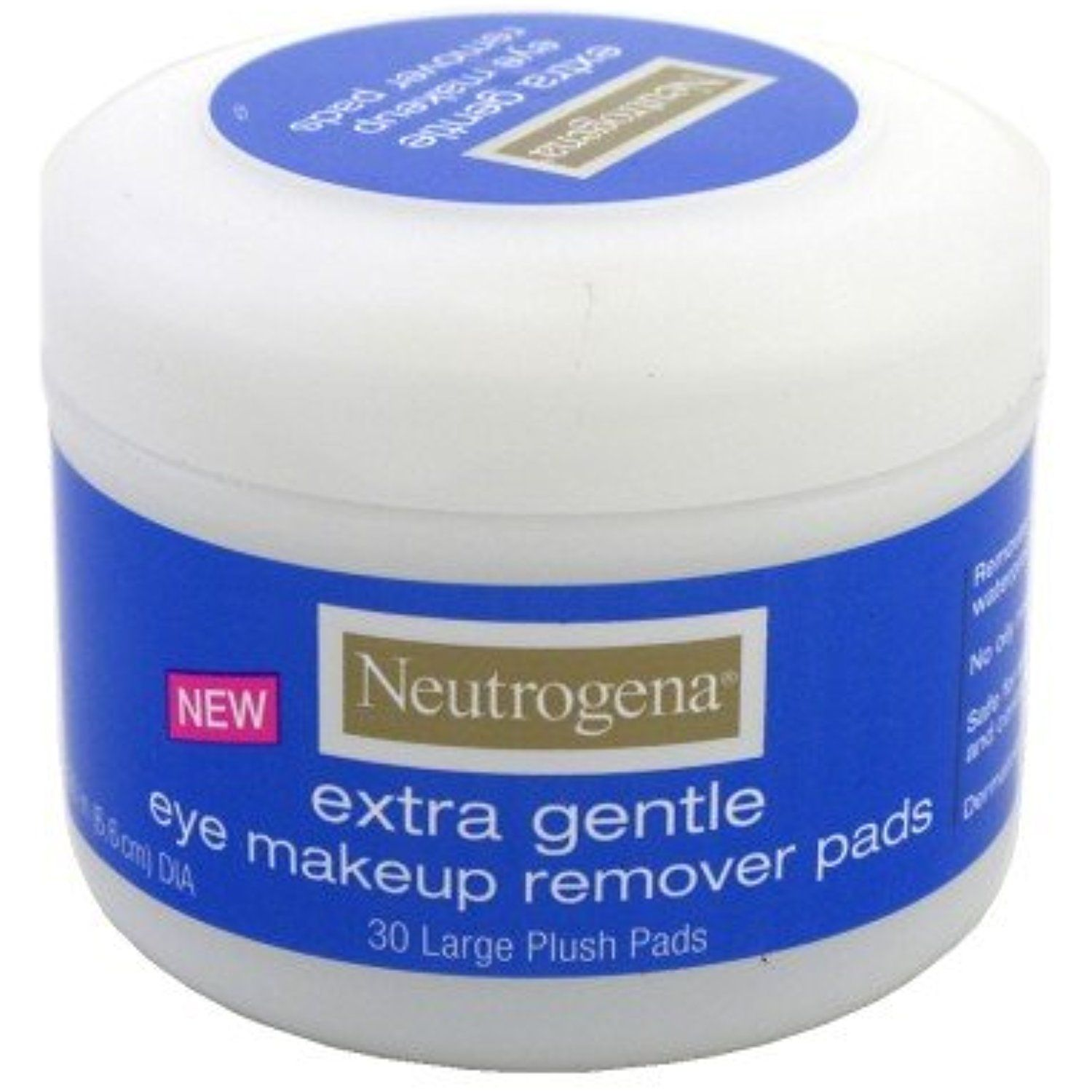Neutrogena Extra Gentle Eye Makeup Remover Pad 30 Per Pack 6