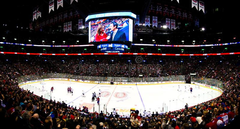 Panoramic Hockey Night In Canada Hockey Night In Montreal Canada Home Of The Ca Ad Montreal Home Canadiens Canad Hockey Panoramic Image Photography
