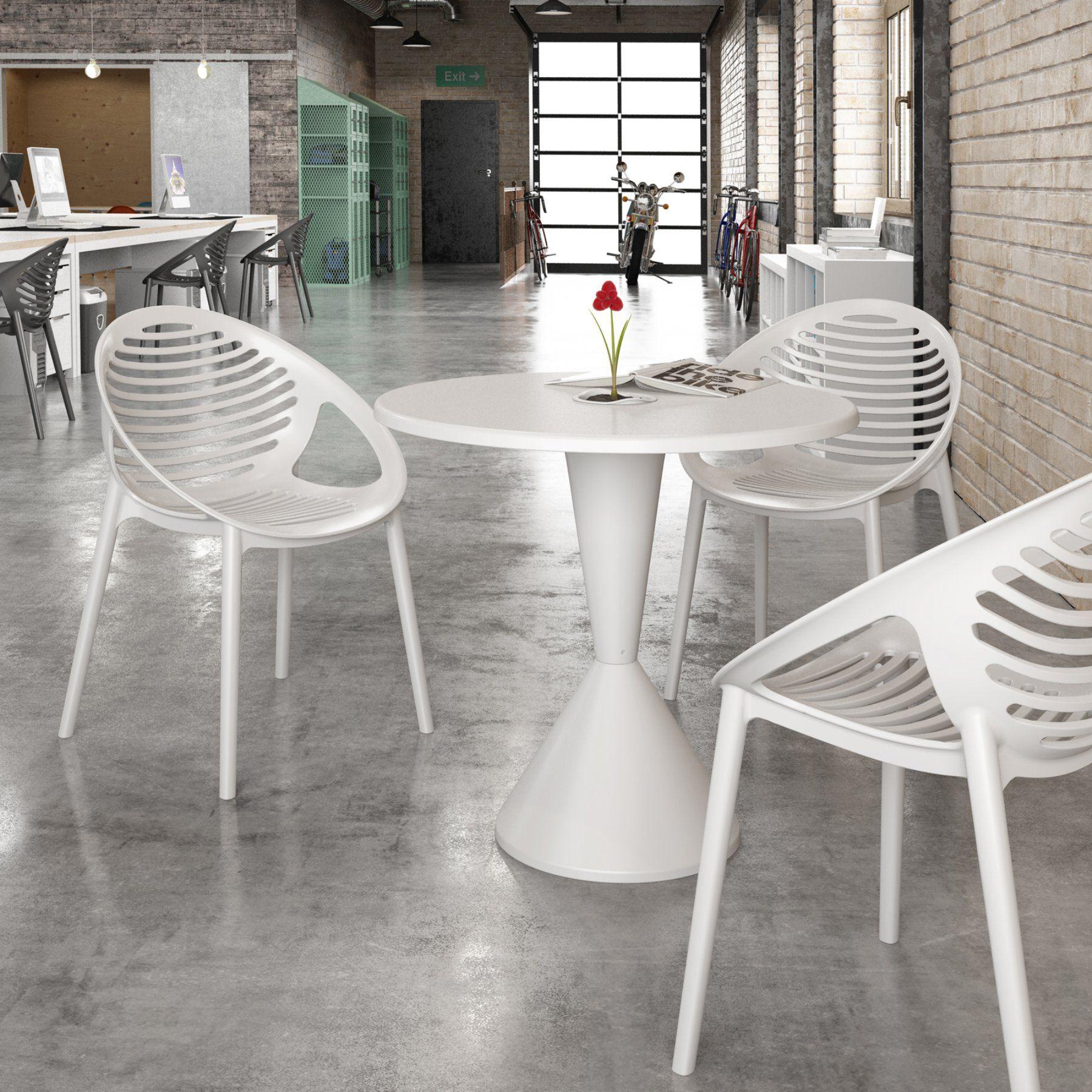 Diamond Sofa Expo Indoor Outdoor 31 In Round Bistro Table Expodtwh