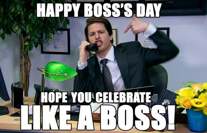 Pin By Destiny On Saturday Night Live D National Bosses Day Happy Boss S Day Boss Day Quotes