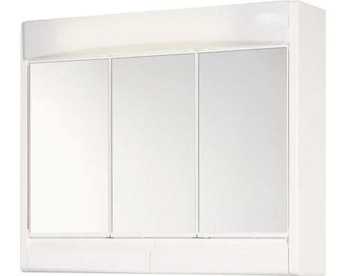 Led Spiegelschrank Jokey Saphir Weiss 60x51 Cm Ip 20 Spiegelschrank Spiegel Schrank