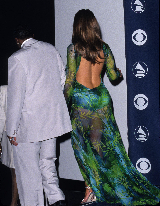 Jennifer Lopez 2000 Grammy Dress Jennifer Lopez Green Dress Jennifer Lopez Versace Dress Jennifer Lopez [ 3000 x 2339 Pixel ]