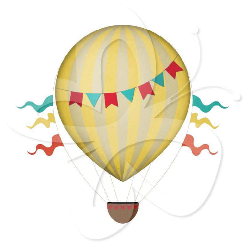 clip art first birthday pinterest hot air balloons air rh pinterest com vintage baby stroller clipart vintage baby boy clipart