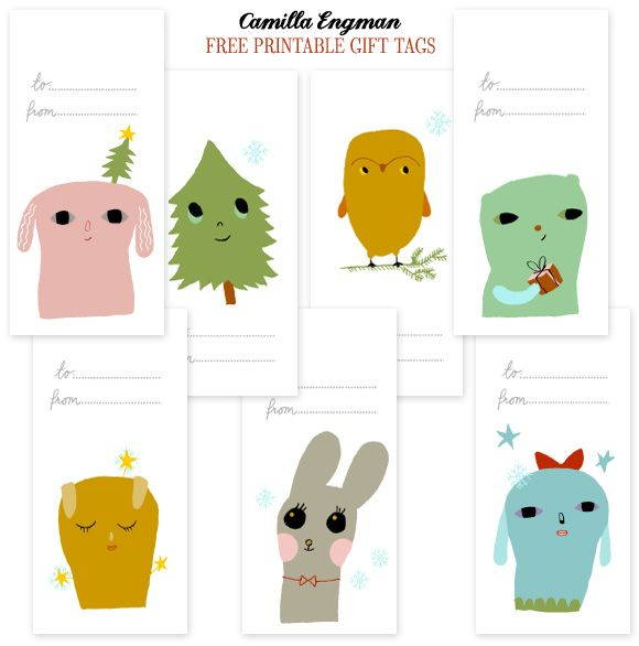 Free holiday gift tags from camilla engman home creature free holiday gift tags from camilla engman home creature comforts daily inspiration negle Choice Image