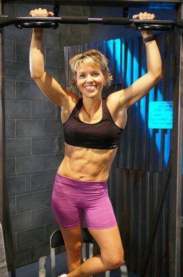 Traci Morrow #p90x love her!   Fitness   Pinterest   P90X, Mind body ...