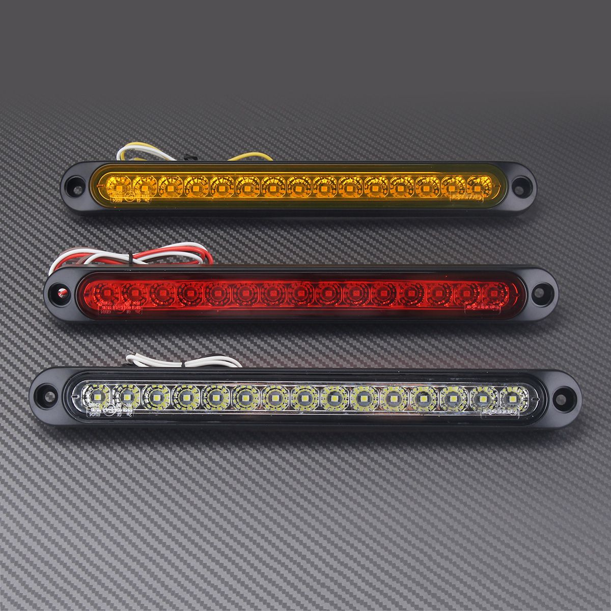 Dc10 30v Ultra Slim 15 Led Car Tail Light Stop Reverse Lamp Trailer Accessories Truck And Lights Super Bright Leds For