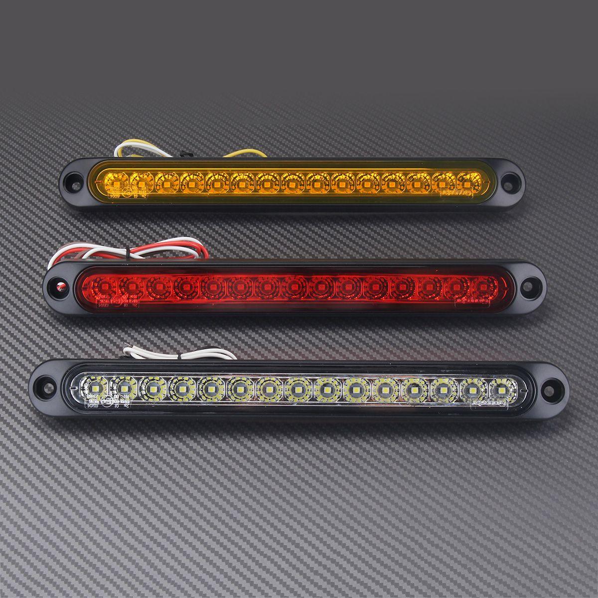 Dc10 30v Ultra Slim 15 Led Car Tail Light Stop Reverse Lamp About White 12v 36 Circuit Board Rv Boat Bulb Ba9s New For