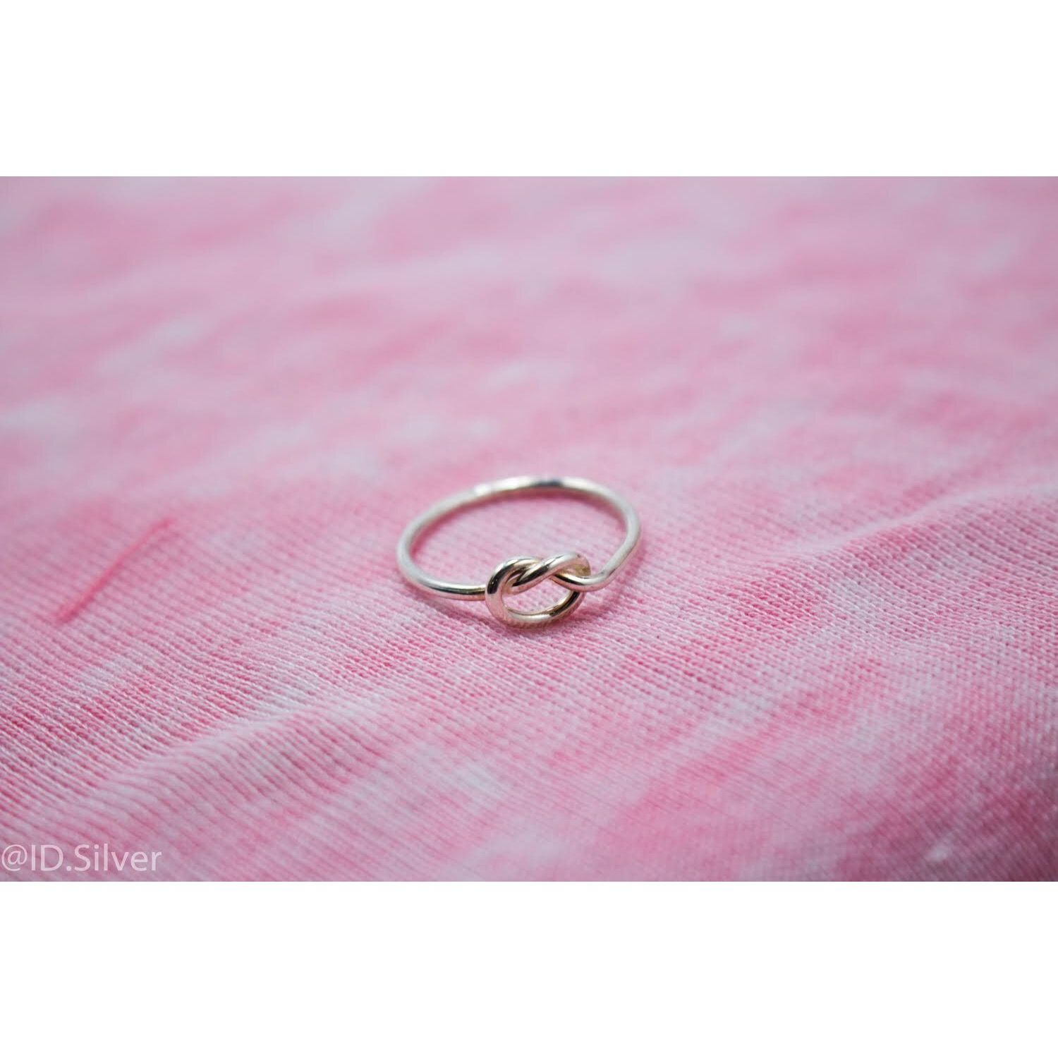The Knot Ring | ID.Silver | Pinterest | Knot rings