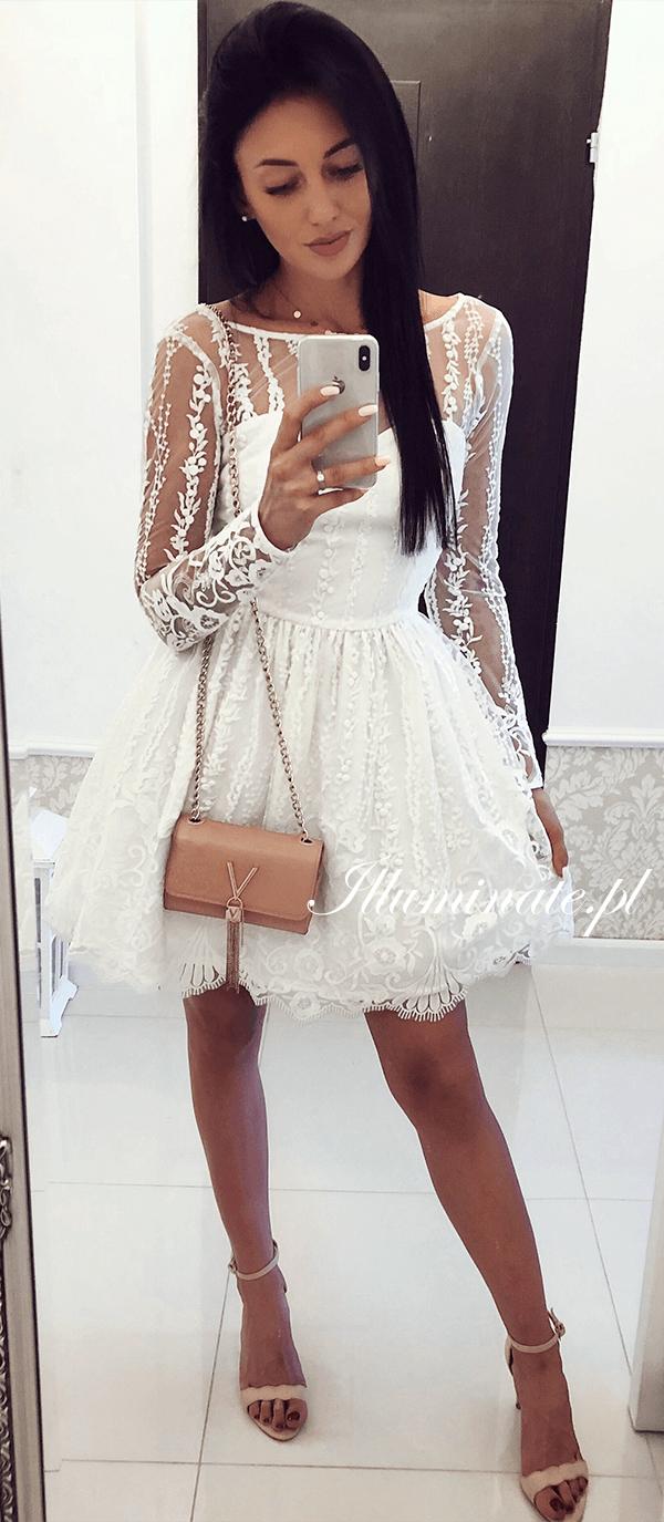 Biala Sliczna Koronkowa Sukienka Allison 3 Idealna Na Poprawiny Sukienka Slub Sukienkanawesele Pannamloda Bride Bridedres Outfits Dresses White Dress