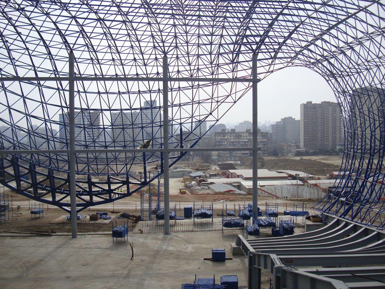 Top Stainless Steel Space Frame Companies In India Zaha Hadid Zaha Hadid Design Zaha