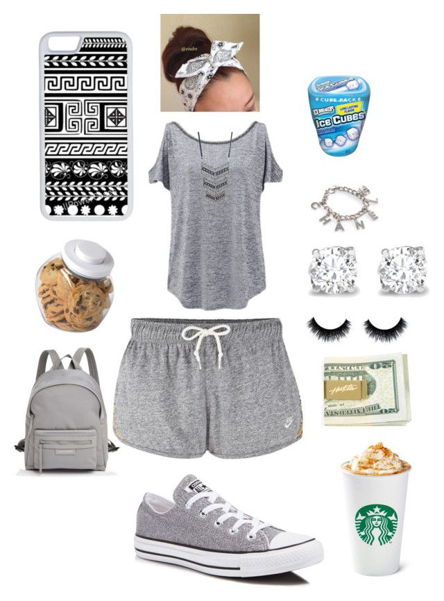 """#283"" by aneysajslexander ❤ liked on Polyvore featuring NIKE, Forever New, Wet Seal, Converse, Asprey, Longchamp, OXO, CellPowerCases, women's clothing and women's fashion"