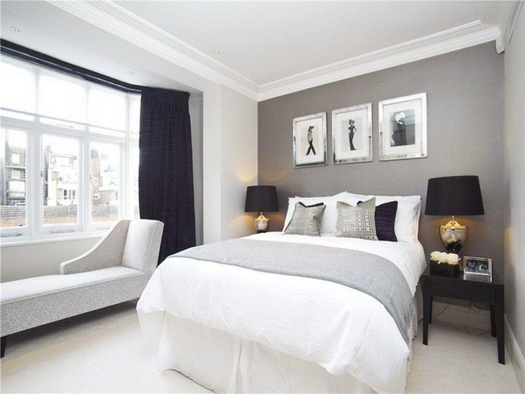 Grey Navy White Bedroom Gray Master Bedroom Bedroom Paint