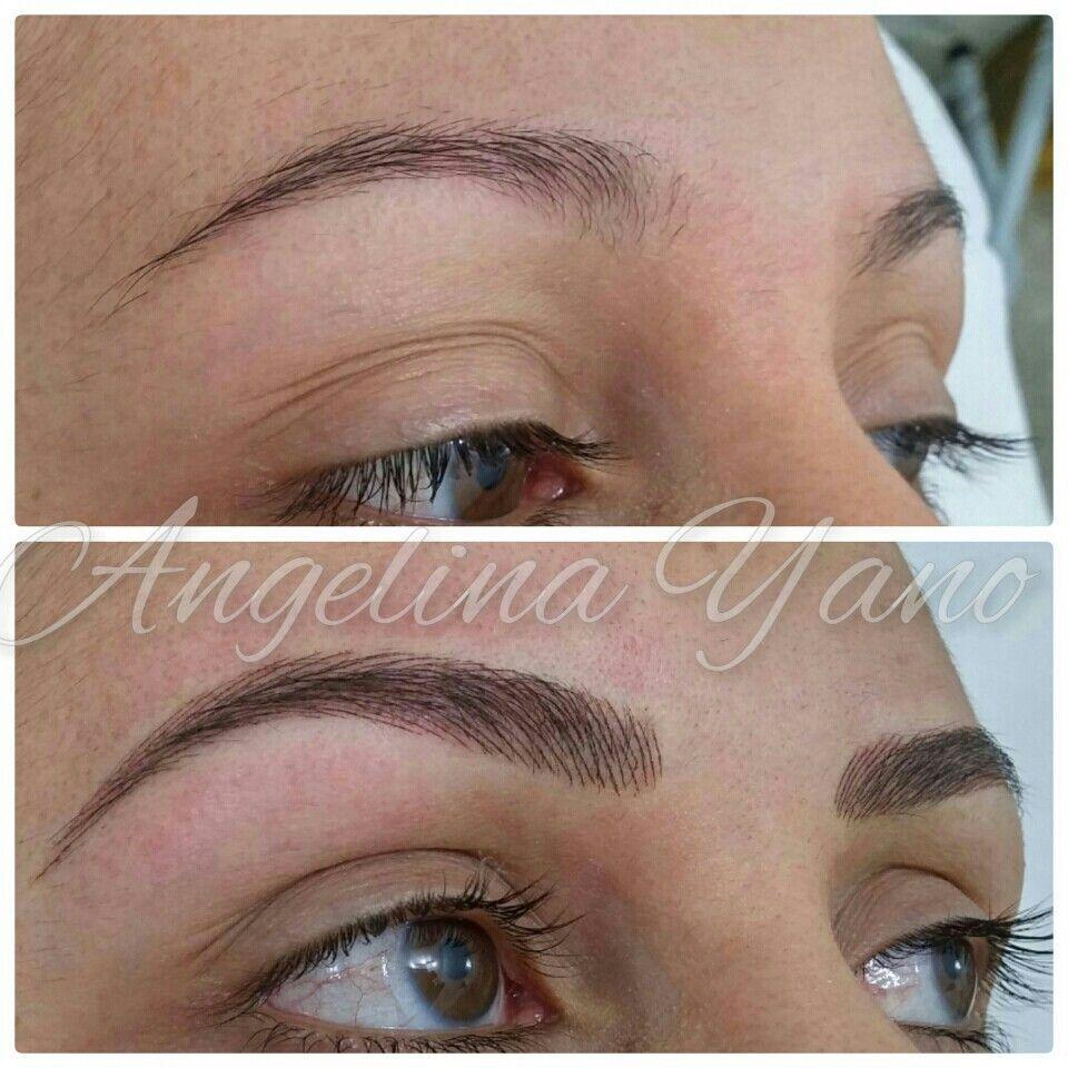 Eyebrow hairstroke in 2020 permanent makeup eyebrows