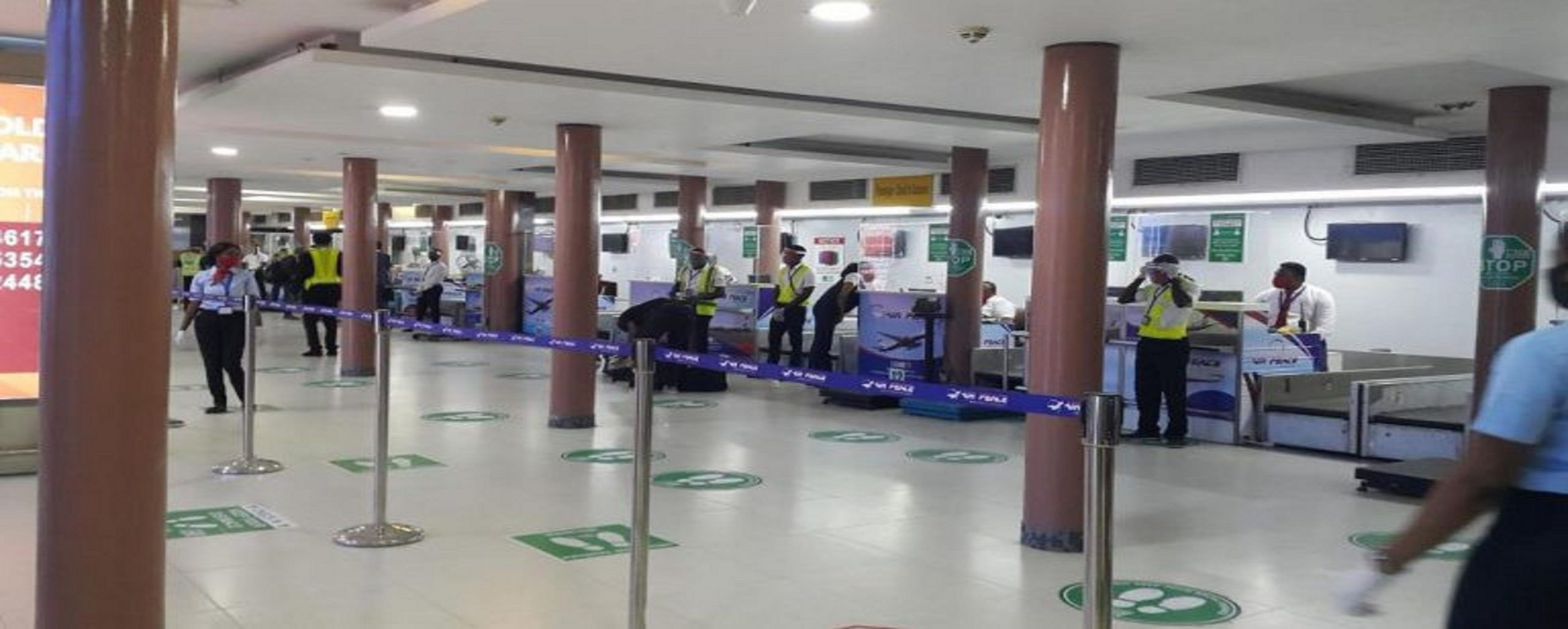Nigerian Airport Witness Low Turnout In Domestic Flights