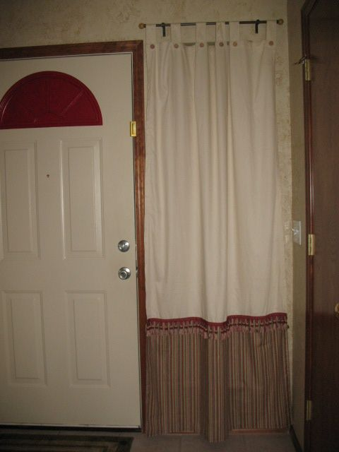 If Your Curtains Are Too Short Add Fabric Of Choice And Trim To