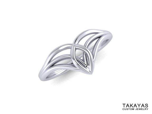 Lord Of The Rings Inspired Elven Wedding Ring Set Takayas Custom Jewelry Celtic Wedding Rings Titanium Wedding Rings Gold Pinky Ring