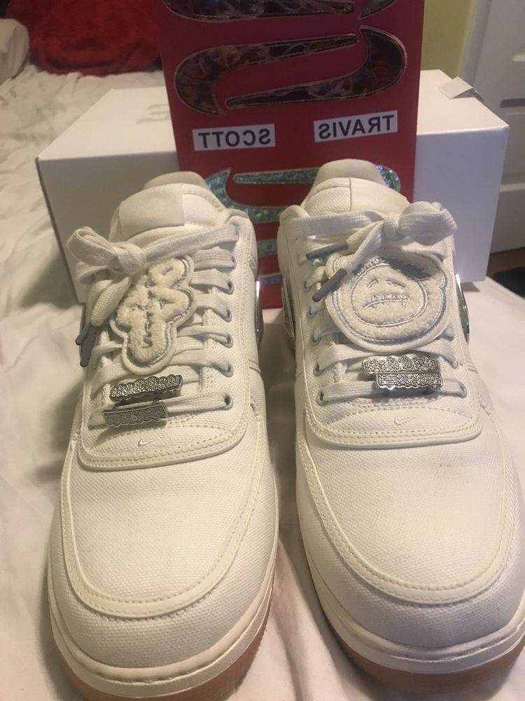newest collection 7810a f80d3 Nike Air Force 1 Low Travis Scott Sail Cactus Jack Mens Size 13 AQ4211-101  BNIB fashion clothing shoes accessories mensshoes athleticshoes (ebay  link)