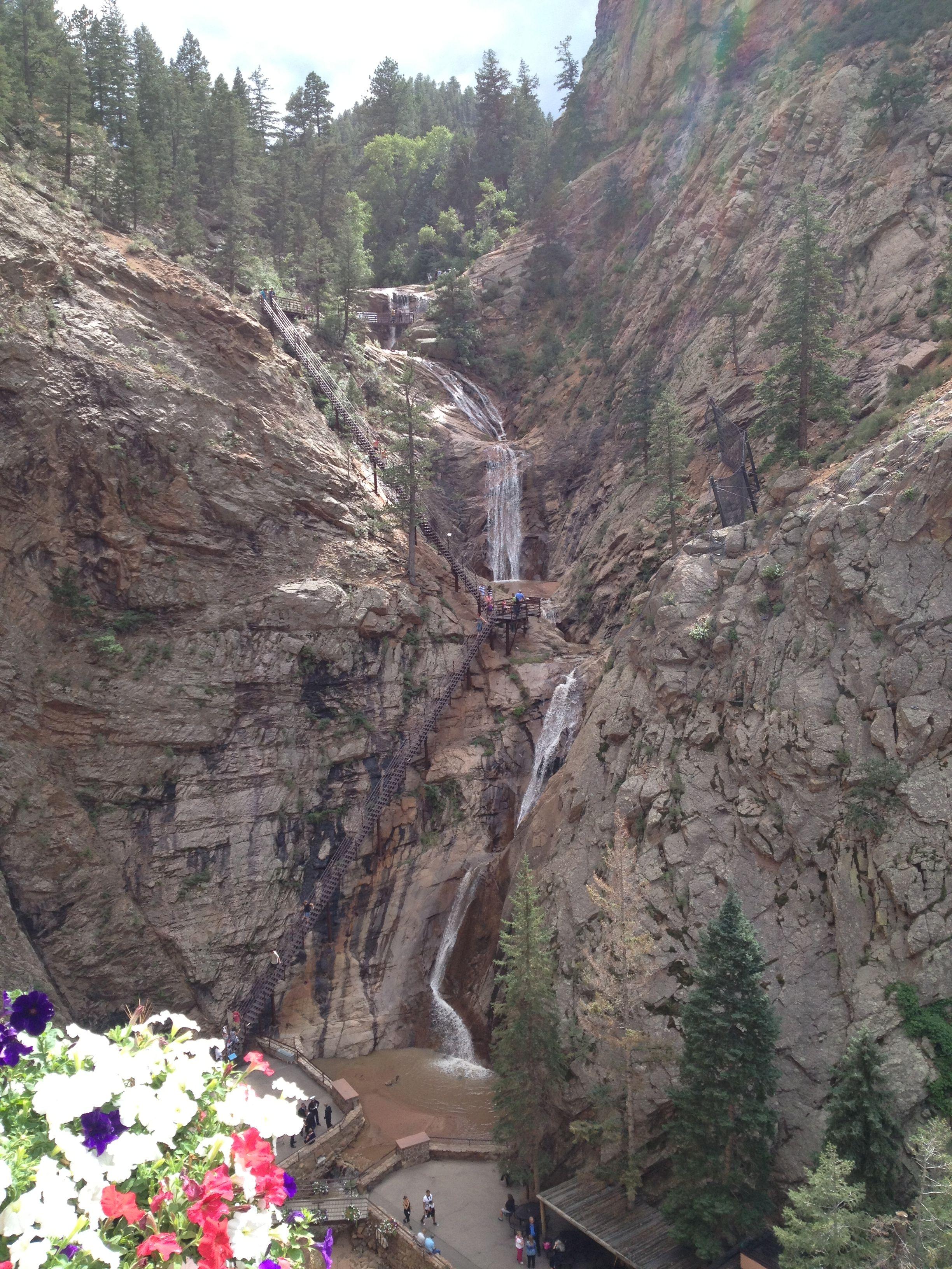 7 Falls Colorado Springs, CO Places to go, Seven falls